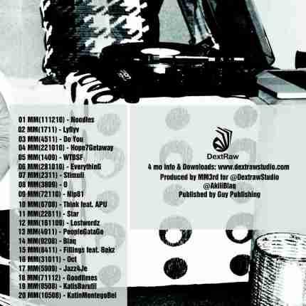 BonsaiDoze Tracklisting 2012